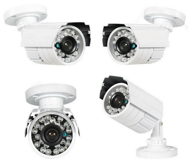 Caméra HD filaire kit surveillance