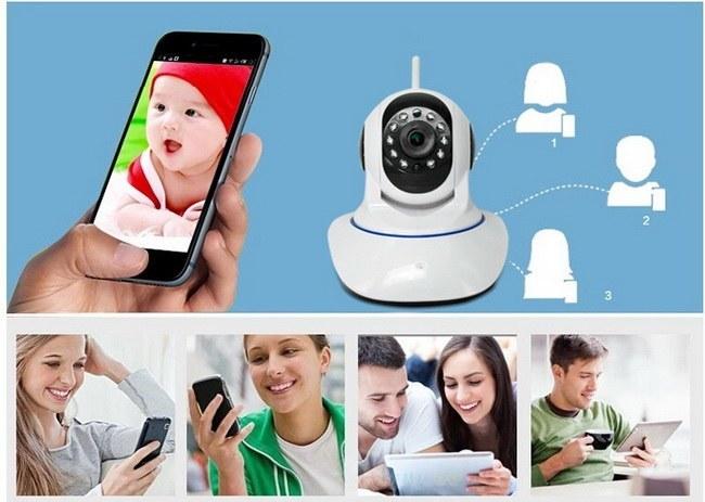 Caméra IP WiFi Motorisée