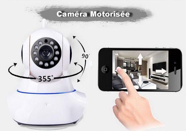 Caméra Motorisée