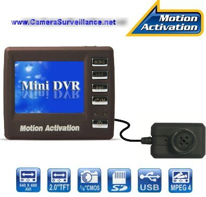 Mini camera surveillance DVR