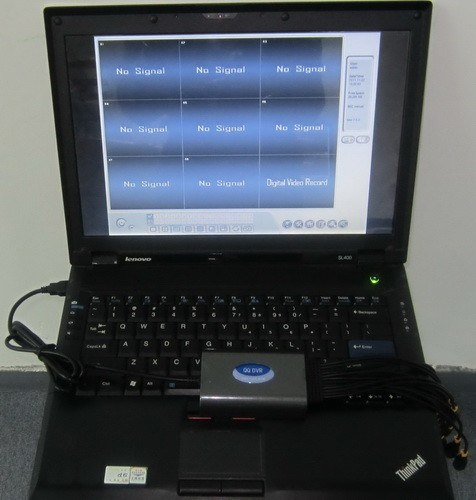 Video surveillance PC portable