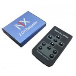 Mini Enregistreur DVR Carte Mémoire 2 Canaux