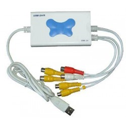 Carte Acquisition Video Surveillance USB pour 4 cameras