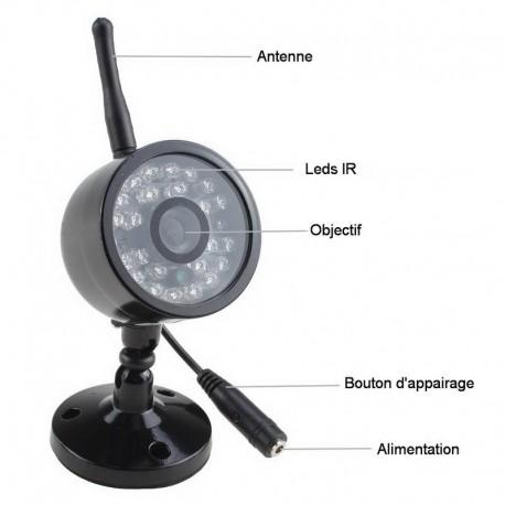 Caméra Supplémentaire pour DVR7LCD
