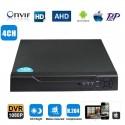 Enregistreur 4 Canaux IP + HD + analogique