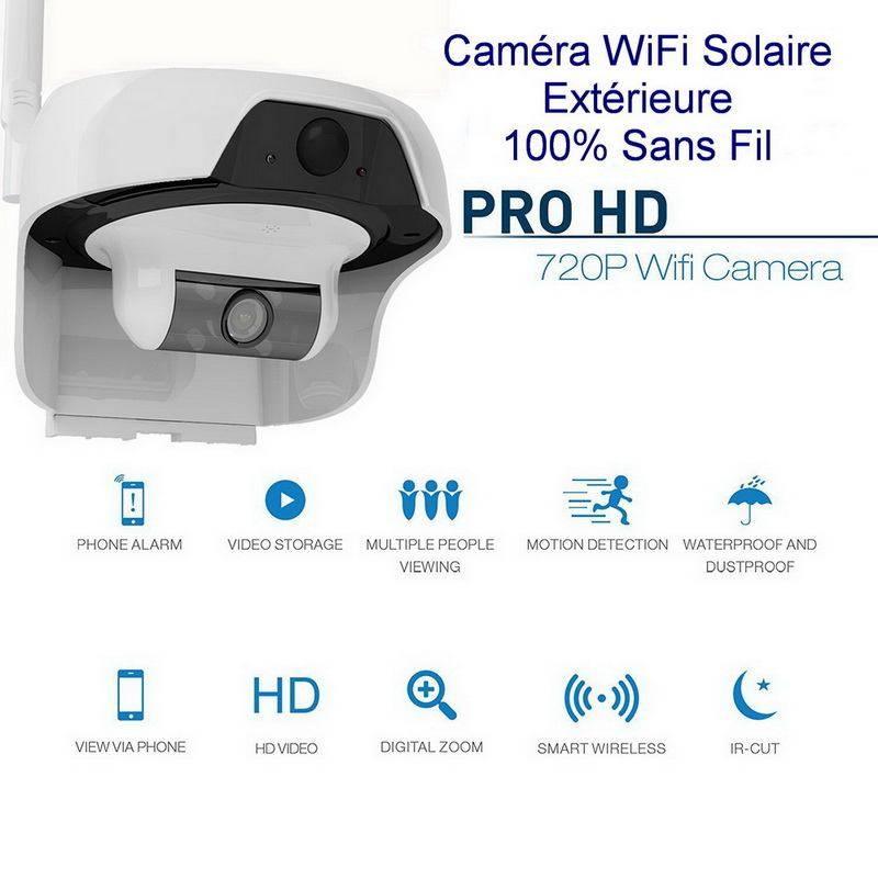 Camera Ip Wifi Exterieur Solaire