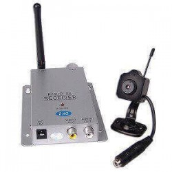 Mini Caméra Sans Fil + Récepteur