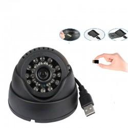 Caméra Dôme avec Enregistrement en Continu