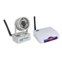 Camera Surveillance Sans Fil Longue Portée + Récepteur PC/TV