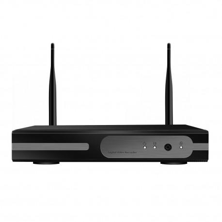 Enregistreur Réseau NVR WiFi 4 Canaux