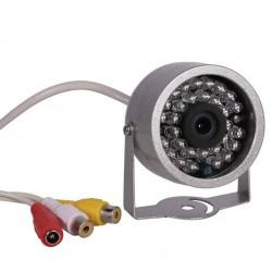 Caméra de surveillance filaire infrarouge extérieure