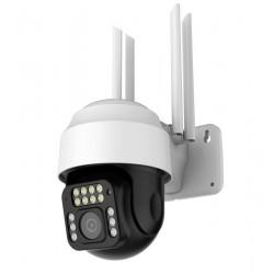 Caméra IP Extérieure Motorisée HD WiFi Zoom