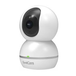 Caméra WiFi Motorisée Infrarouge Son Bi-canal Sirène Stockage Cloud Spotcam Eva 2