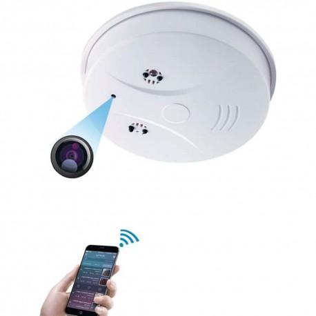 Caméra Espion WiFi HD Faux Détecteur de Fumée