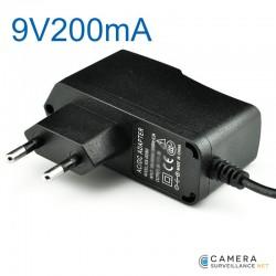 Adaptateur-secteur pour mini caméra filaire 9V200mA
