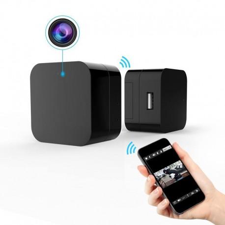 Caméra Espion WiFi Prise Electrique Full HD