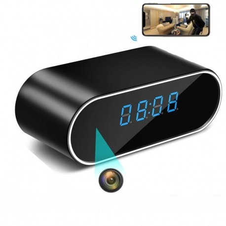 Caméra Espion Réveil Matin Full HD