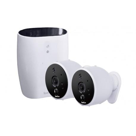 Kit vidéosurveillance sans fil WiFi extérieur