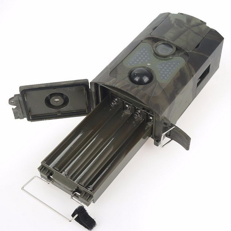 Compartiment piles caméra autonome