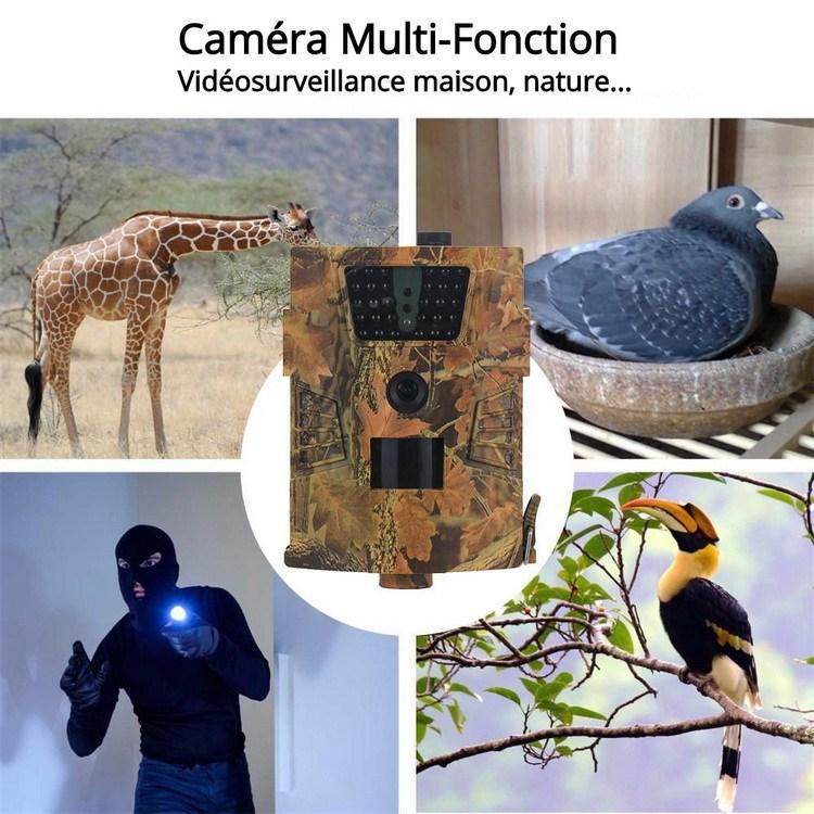 Caméra autonome multi fonctions