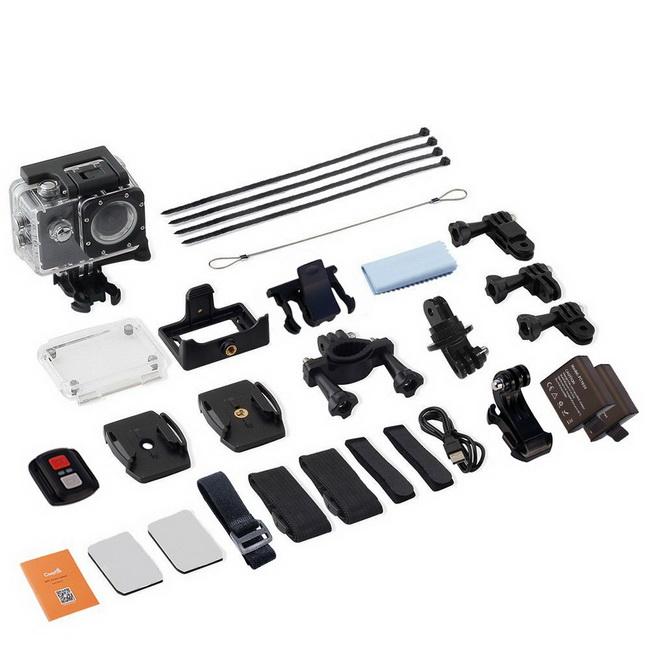 Caméra avec accessoires