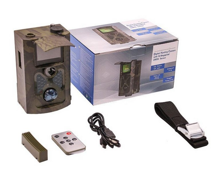 Caméra de chasse emballage
