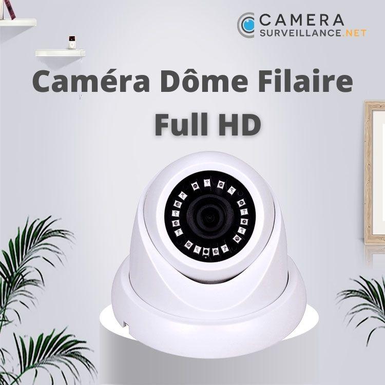 Caméra dôme filaire intérieur vidéosurveillance