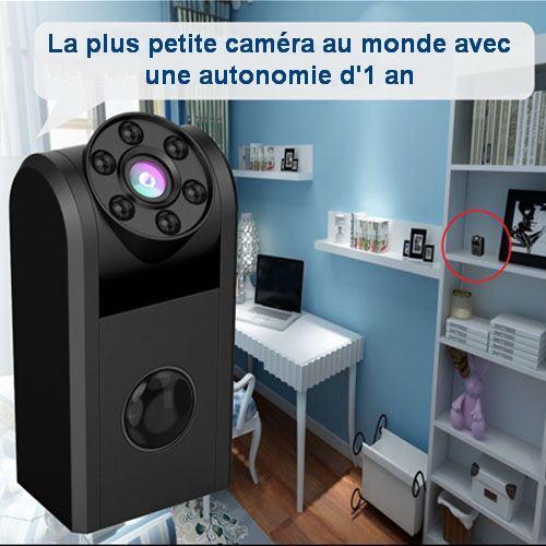 Caméra espion avec une autonomie jusqu'à 1 an