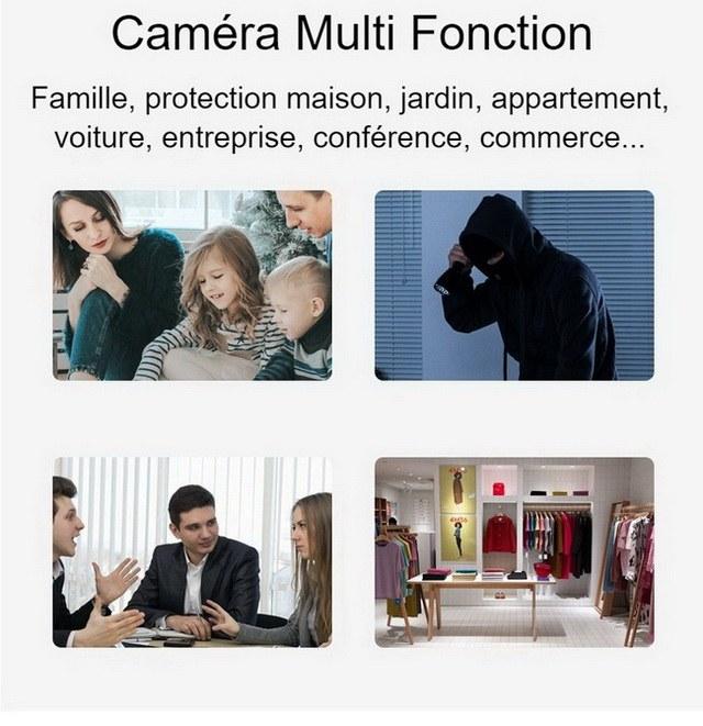 Caméra WiFi multi fonction