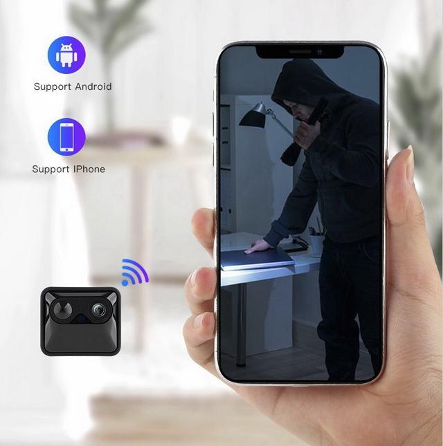Caméra WiFi PIR longue autonomie