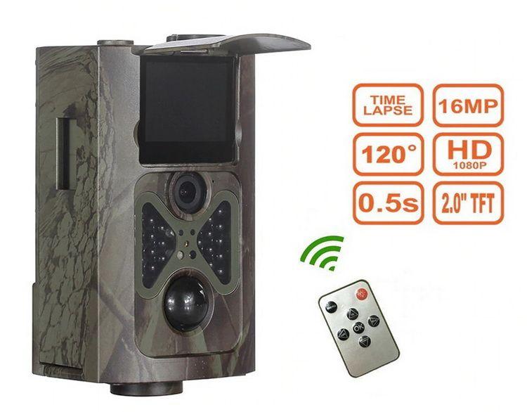 Caméra extérieure autonome avec télécommande