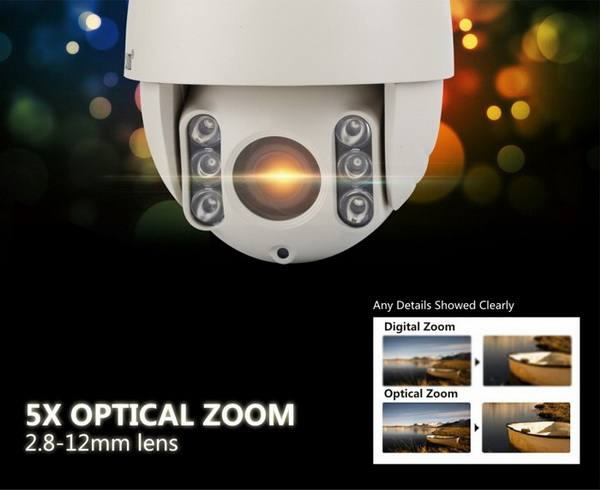 Caméra HD avec zoom optique