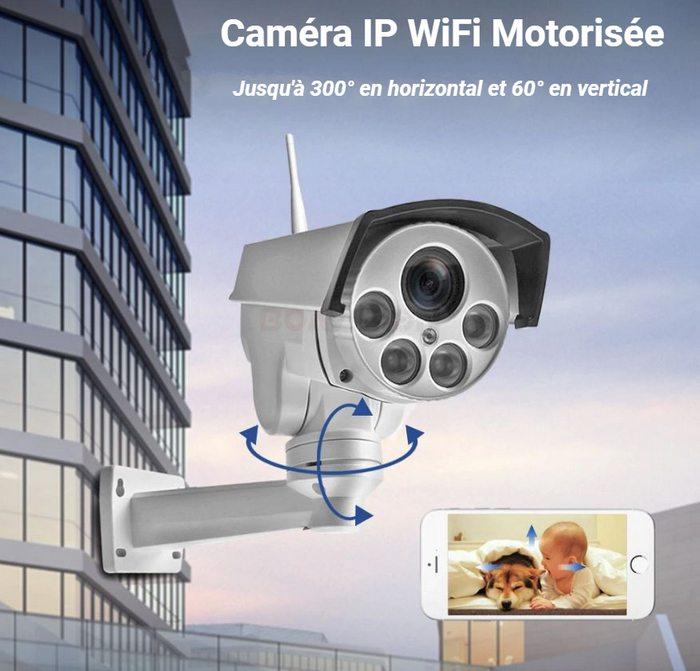 Caméra IP PTZ