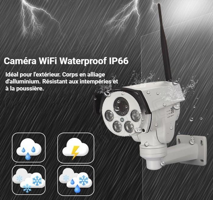 Caméra IP extérieure waterproof