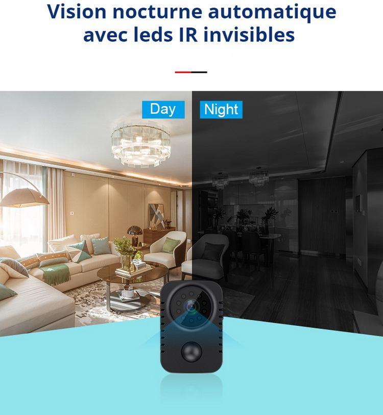 Vision de nuit avec leds IR invisibles