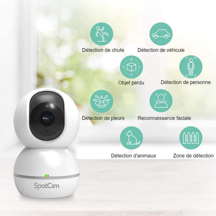 Caméra vidéosurveillance PTZ Eva 2