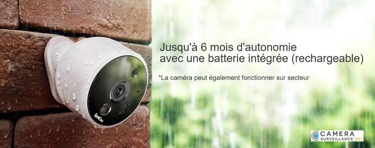 Caméra WiFi Autonome Batterie Solo 2