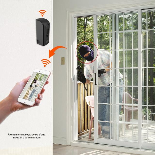 Caméra WiFi sur Batterie avec Détection de Mouvement