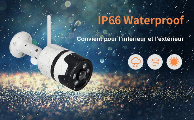 Caméra WiFi Cloud Waterproof