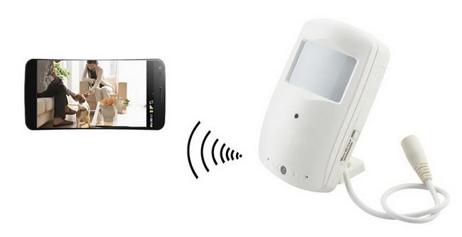 Caméra WiFi avec détection mouvement