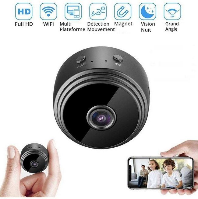 Caméra WiFi Espion