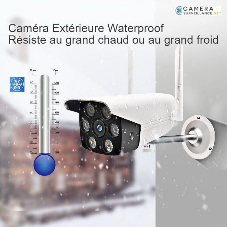 Caméra WiFi extérieure chaud ou froid