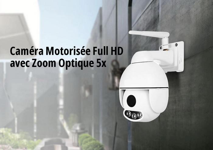 Caméra WiFi Motorisée avec Zoom Optique