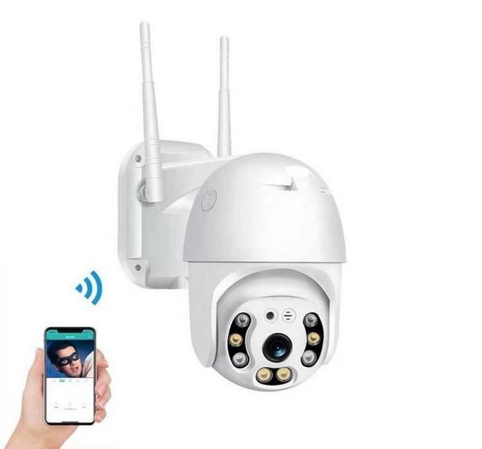 Caméra WiFi accès à distance smartphone