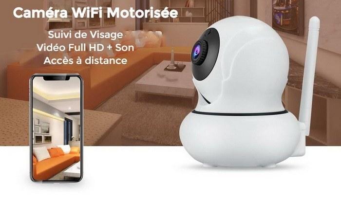 Caméra WiFi avec Suivi de Visage Automatique