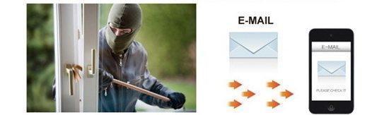 Envoi d'alertes à détection de mouvement