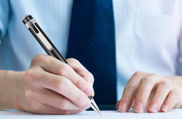 Stylo espion écriture et utilisation
