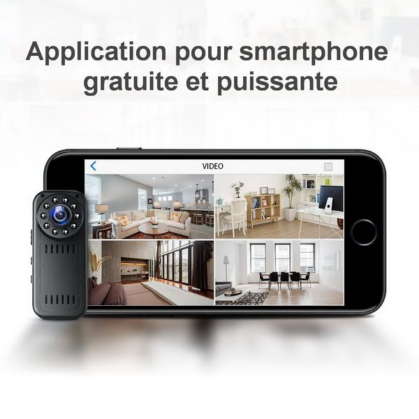 Application smartphone fonctions