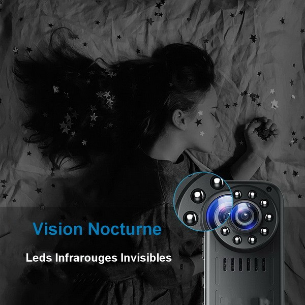 Leds IR invisibles - vision nocturne