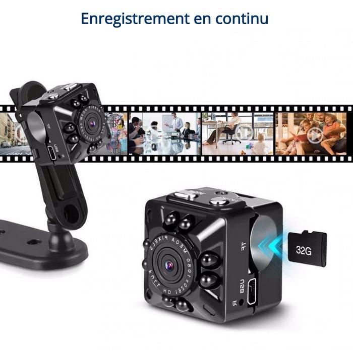 Micro caméra enregistrement en continu